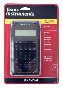 Texas Instruments BA II Plus Professional Finansal